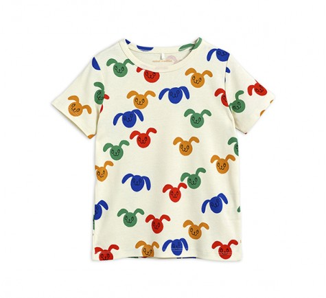 Camiseta conejitos de colores de Mini Rodini