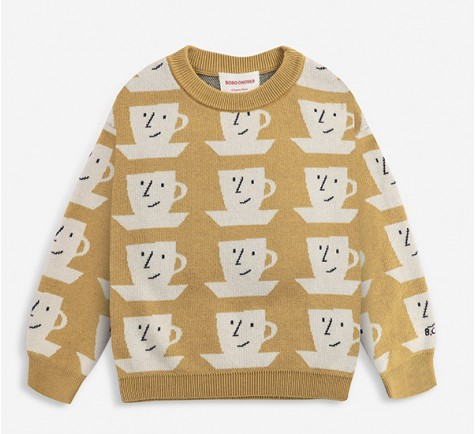BOBO CHOSES - JERSEY CUP OF TEA ALL OVER